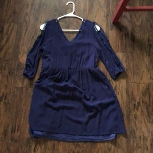Lulu's navy dress